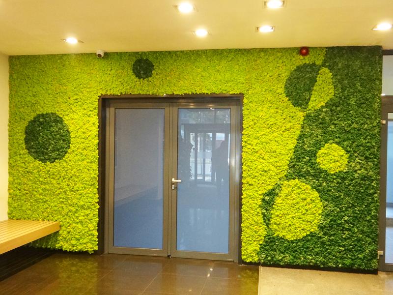 Зелена стена на бул. Тодор Александров