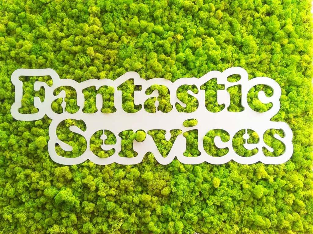 Лого от скандинaвски мъх за Fantastic services