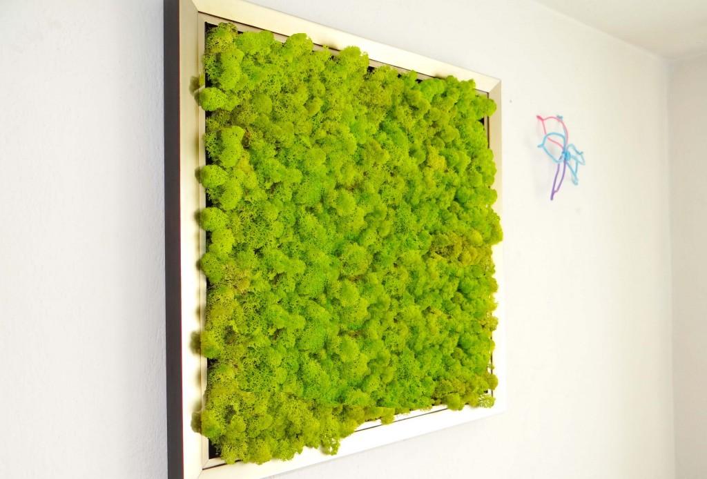 Картина със сребриста рамка - луксозен подарък за дома или офиса